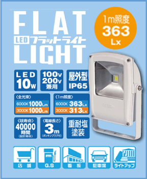 flat light led