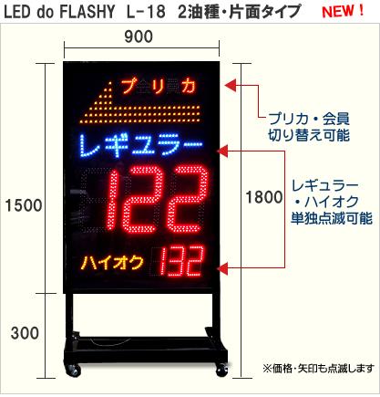 LED do FLASHY L-18
